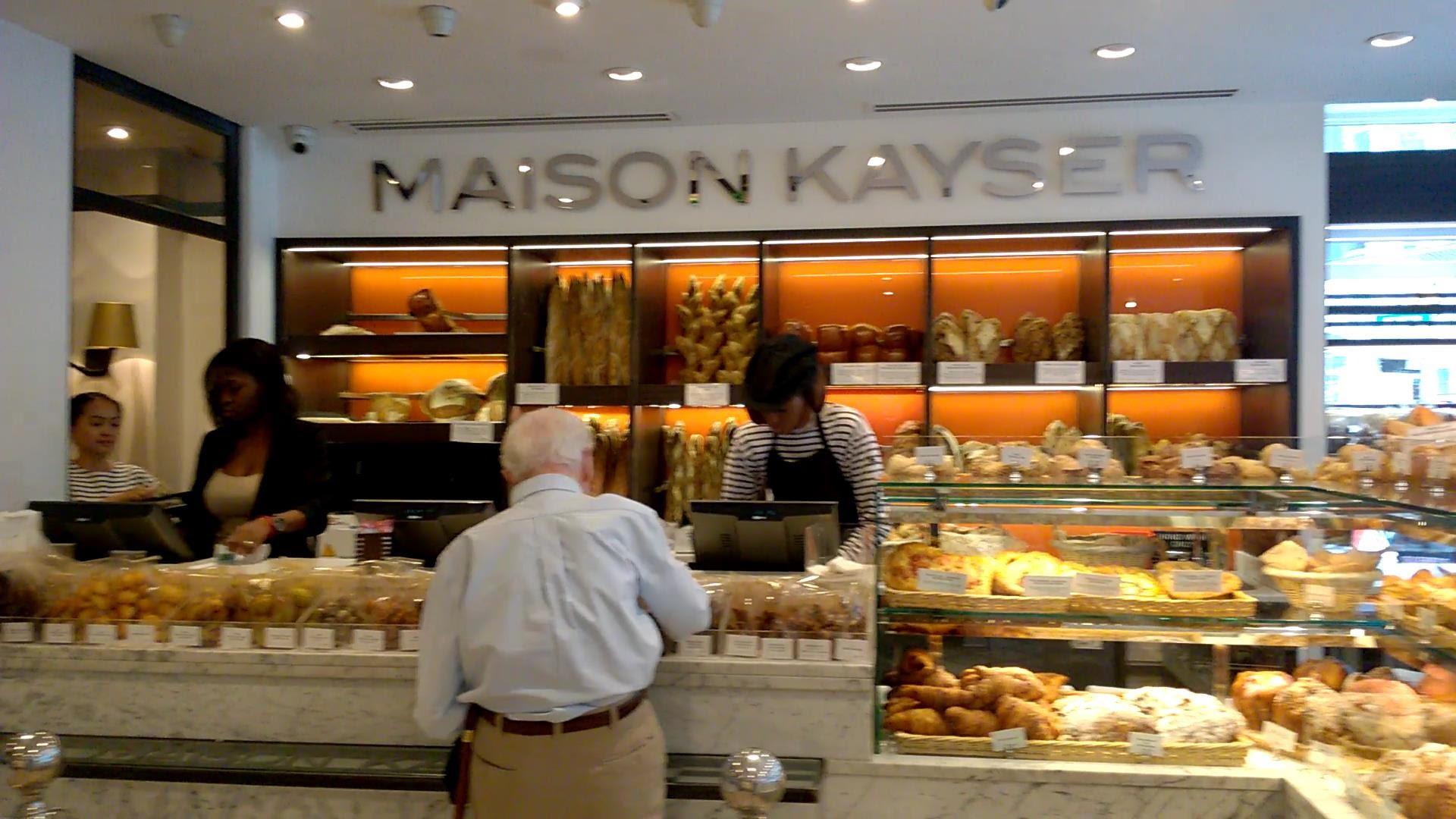 Maison Kayser cafe restaurant new york bakery french