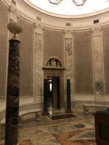Rotunda with marble floor