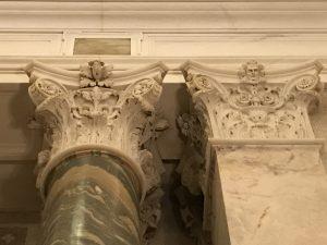 Rotunda Pillars-Renaissance resemblance (Florence)