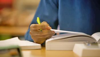 CFA studying books reading